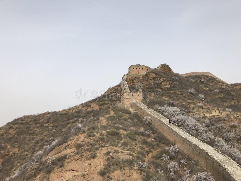 Το Σινικό Τείχος στοκ εικόνα