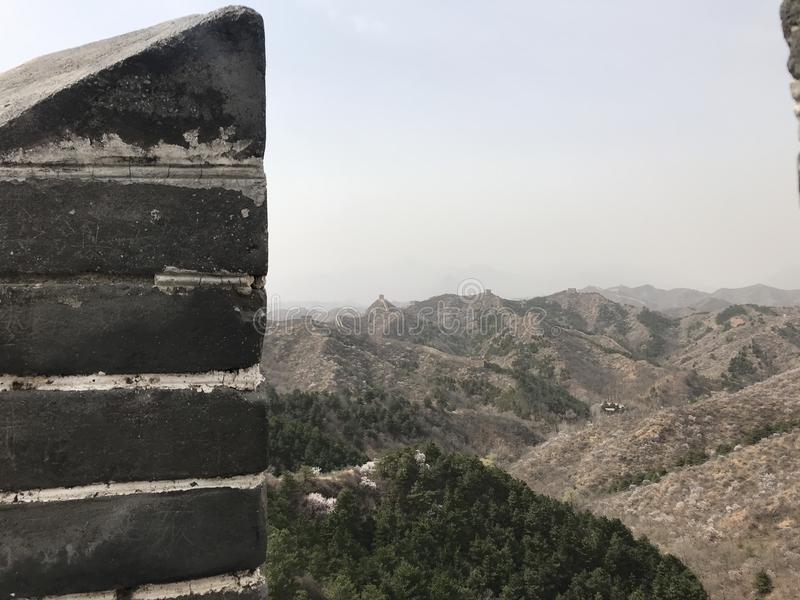 Το Σινικό Τείχος στοκ φωτογραφία με δικαίωμα ελεύθερης χρήσης