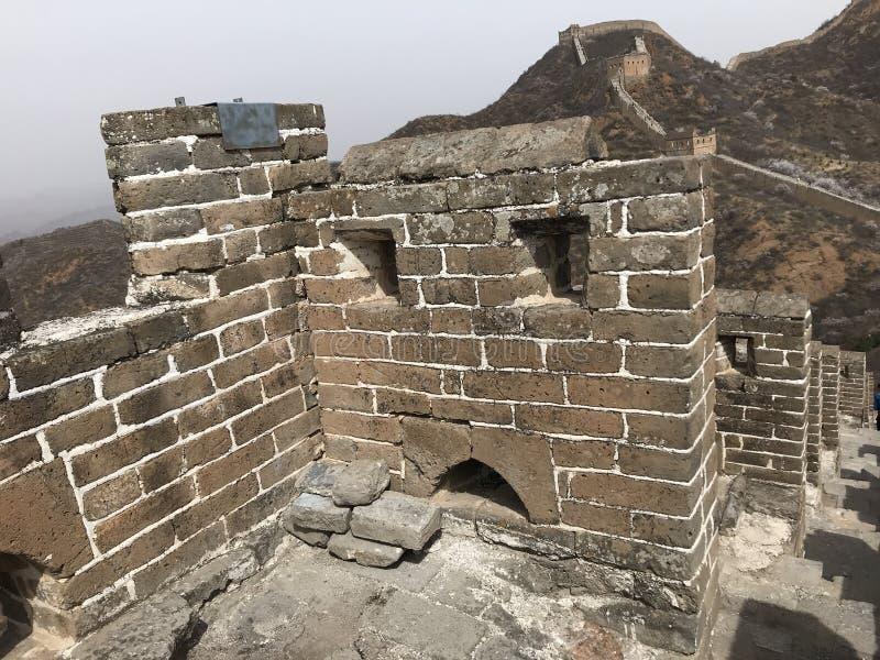 Το Σινικό Τείχος στοκ εικόνα με δικαίωμα ελεύθερης χρήσης