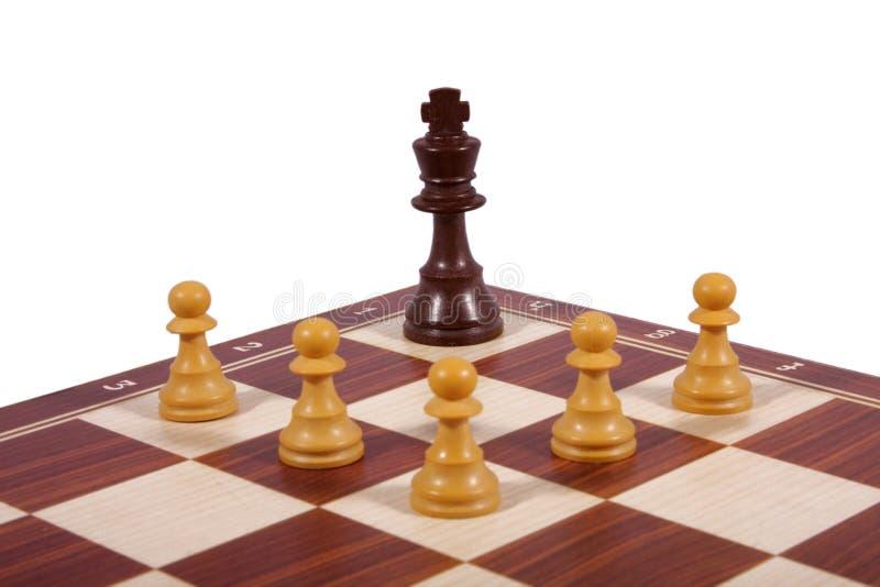 το σκάκι απομόνωσε το λε& στοκ εικόνες με δικαίωμα ελεύθερης χρήσης
