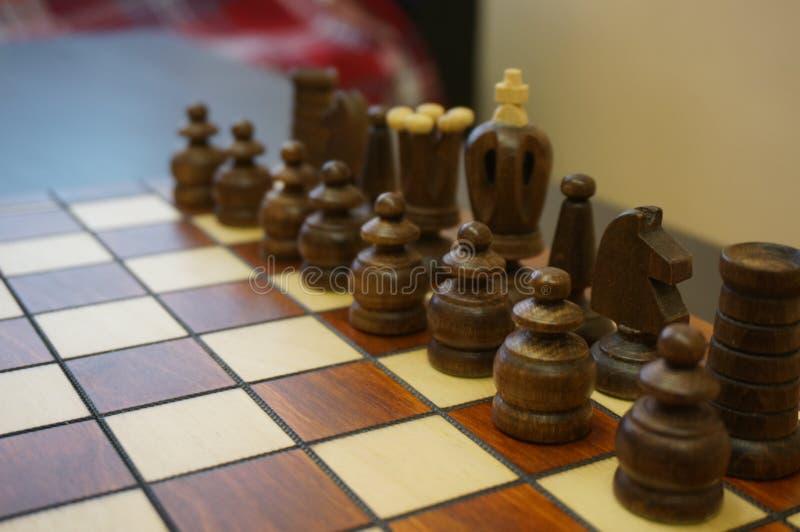 Το σκάκι είναι ένα παιχνίδι για τους μεγάλους ανθρώπους στοκ εικόνα