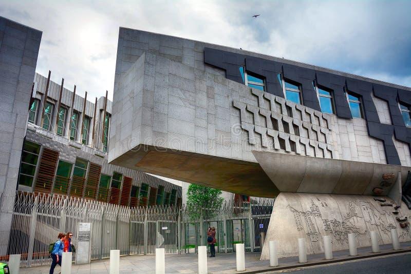 Το σκωτσέζικο Κοινοβούλιο, Εδιμβούργο, Σκωτία στοκ φωτογραφίες