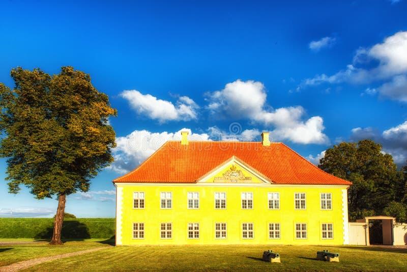 Το σπίτι διοικητών ` s σε Kastellet, Κοπεγχάγη στοκ φωτογραφίες με δικαίωμα ελεύθερης χρήσης