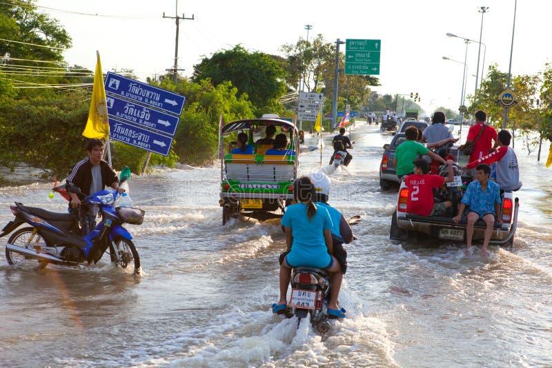 το σπίτι πλημμυρών προσπερ&nu στοκ φωτογραφίες