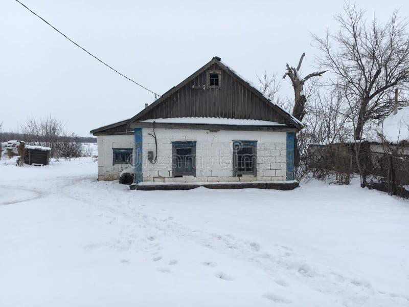Το σπίτι που χτίστηκε πριν από 90 χρόνια στοκ εικόνα με δικαίωμα ελεύθερης χρήσης
