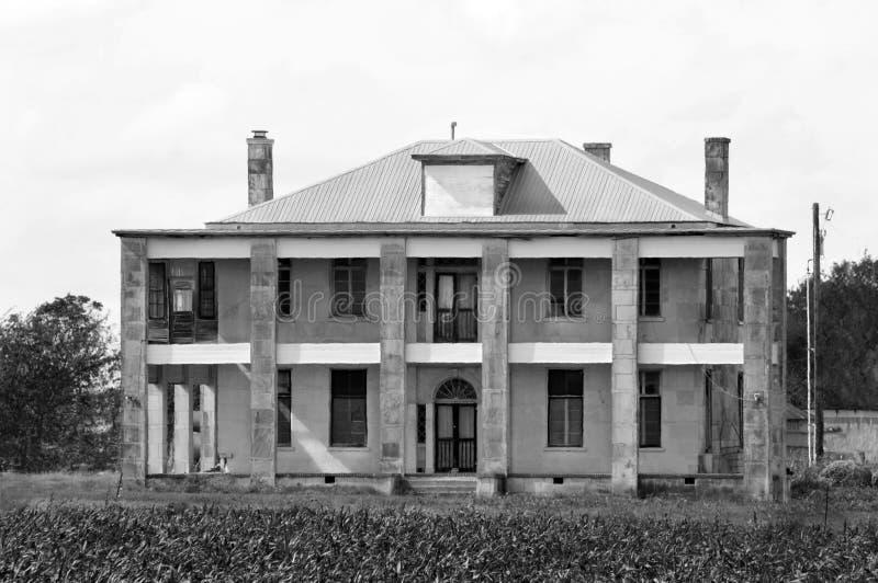 Το σπίτι Hewitt (θέση κινηματογράφων σφαγής αλυσιδοπριόνων του Τέξας) στοκ φωτογραφία με δικαίωμα ελεύθερης χρήσης