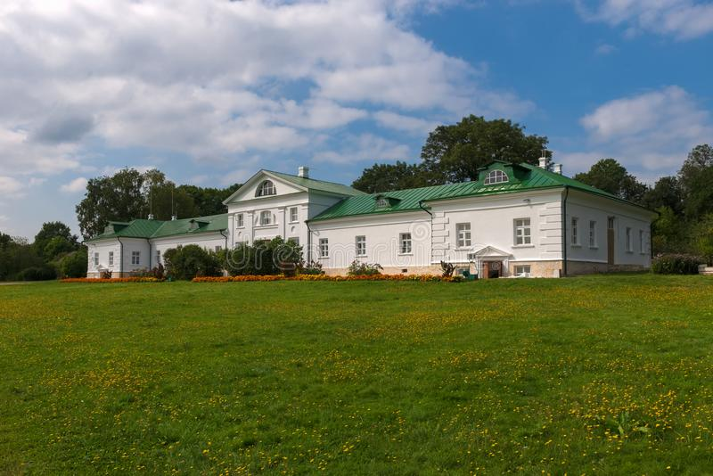 Το σπίτι Volkonsky στοκ φωτογραφία με δικαίωμα ελεύθερης χρήσης