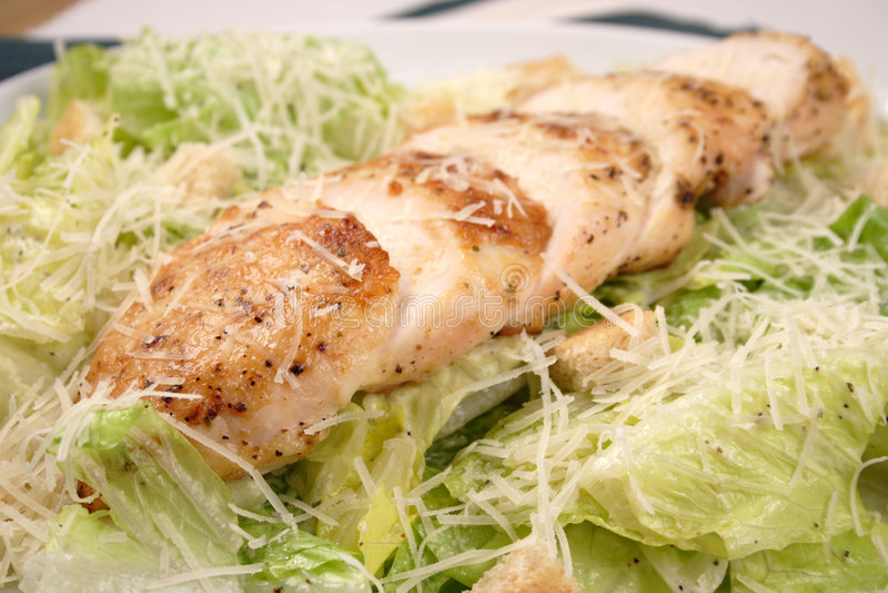 το στήθος η σαλάτα στοκ φωτογραφία με δικαίωμα ελεύθερης χρήσης