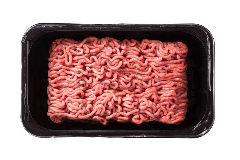 το στενό κρέας που κομματιάζεται προετοιμάζει έτοιμο επάνω στοκ φωτογραφίες με δικαίωμα ελεύθερης χρήσης
