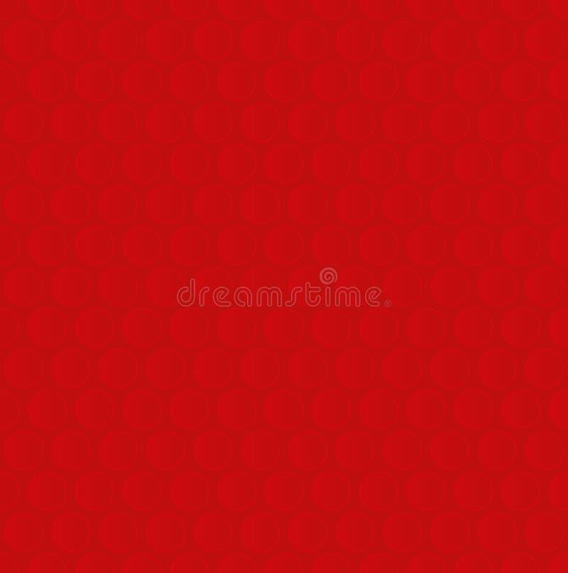 το στενό πλάνο φυσαλίδων τυλίγει επάνω Κόκκινο ουδέτερο άνευ ραφής σχέδιο για το σύγχρονο σχέδιο στο Φ απεικόνιση αποθεμάτων