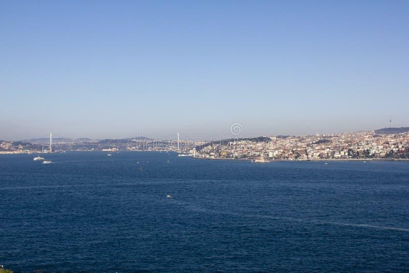 Το στενό Bosphorus, Τουρκία στοκ εικόνα