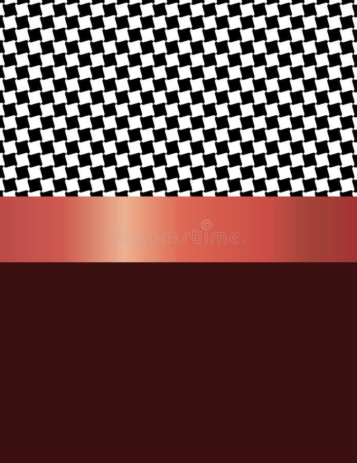 Το σχέδιο σχεδίων λόξευσε τα μαύρα τετράγωνα διανυσματική απεικόνιση