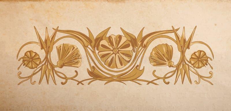 το σχέδιο floral ιδανικά διακοσμεί το διάνυσμα χρήσης σας ελεύθερη απεικόνιση δικαιώματος