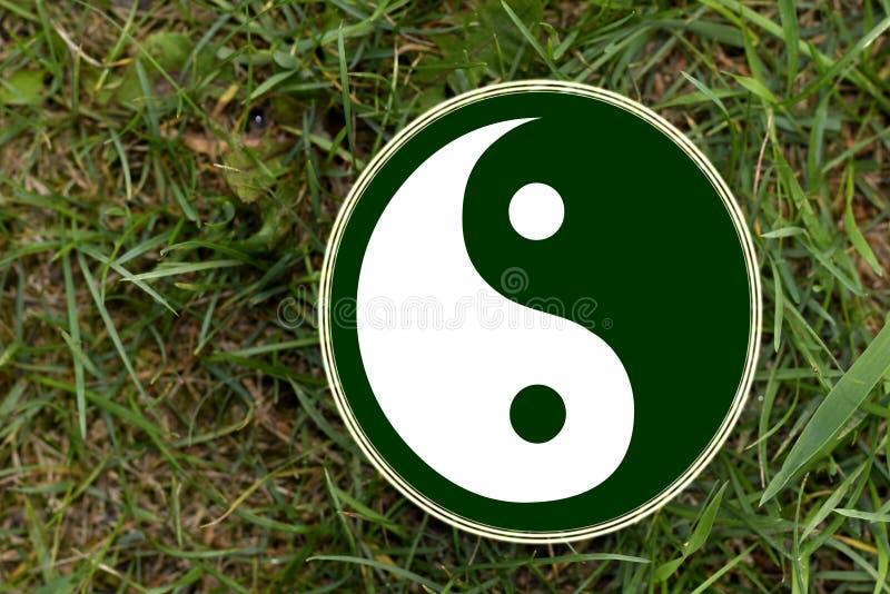 Το σύμβολο yin-Yang στοκ φωτογραφίες με δικαίωμα ελεύθερης χρήσης