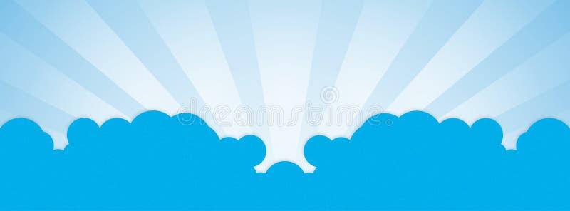 Το σύννεφο facebook καλύπτει διανυσματική απεικόνιση