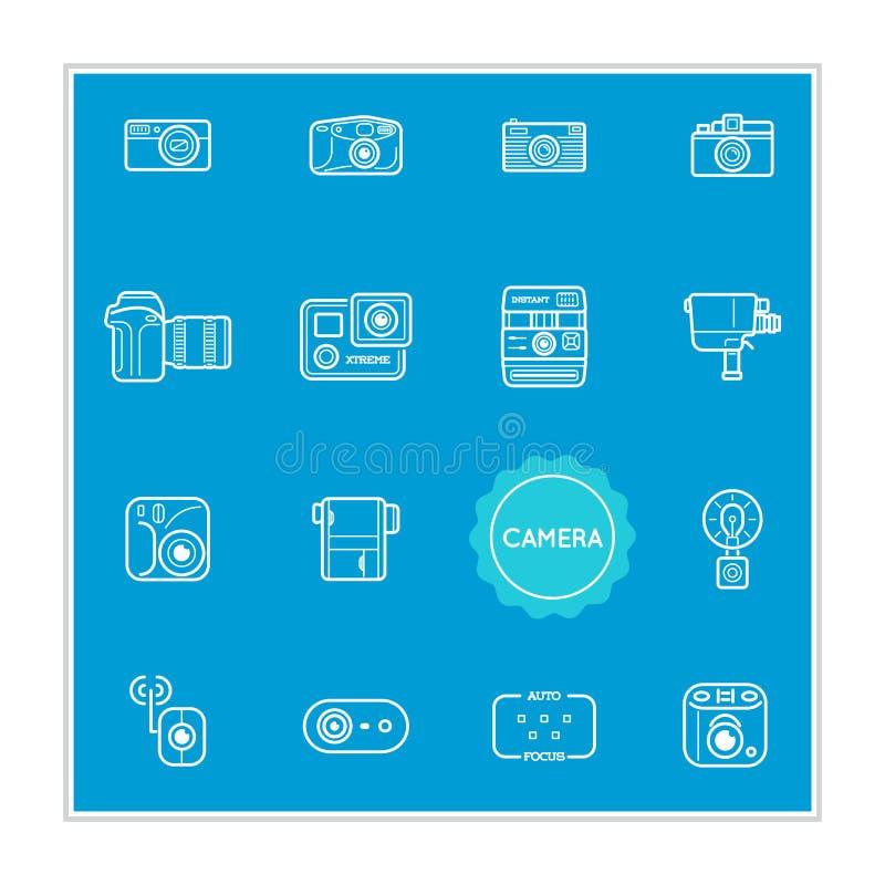 Το σύνολο διανυσματικών στοιχείων απεικόνισης φωτογραφιών καμερών μπορεί να χρησιμοποιηθεί όπως διανυσματική απεικόνιση