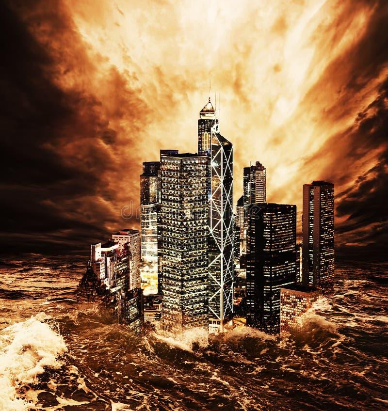 Το τέλος του κόσμου. στοκ φωτογραφίες με δικαίωμα ελεύθερης χρήσης