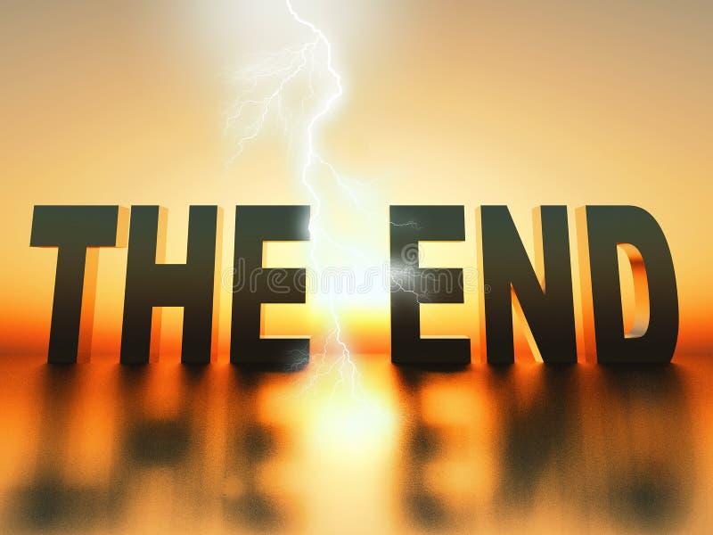 Το τέλος απεικόνιση αποθεμάτων