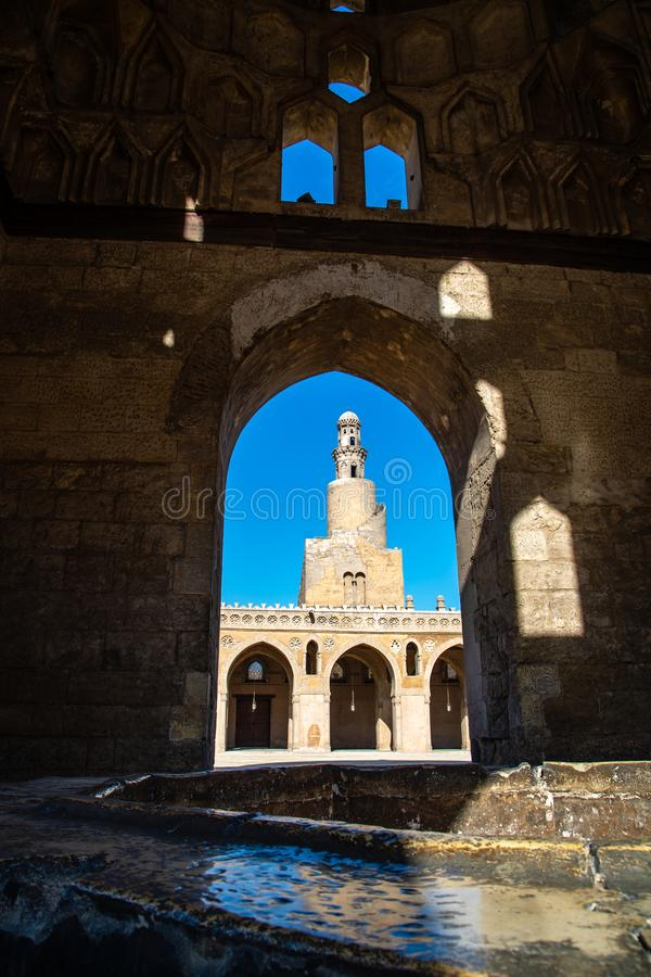 Το τέμενος του Ahmad Ibn Tulun στοκ εικόνες με δικαίωμα ελεύθερης χρήσης
