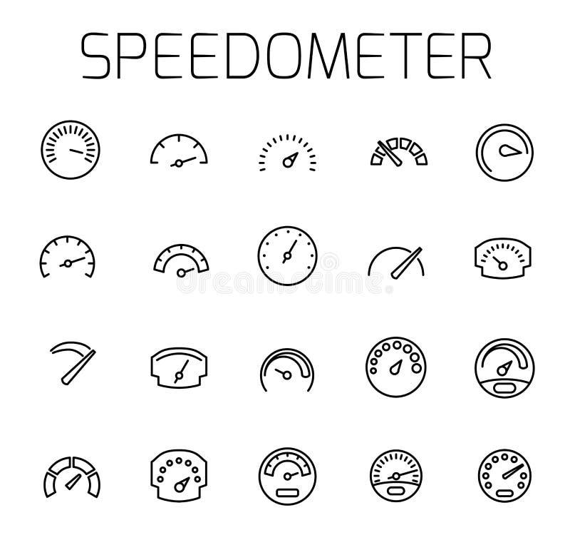 Το ταχύμετρο αφορούσε το διανυσματικό σύνολο εικονιδίων απεικόνιση αποθεμάτων