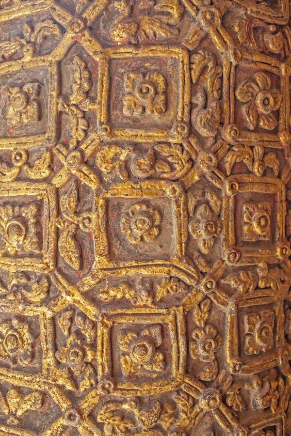 Το ταϊλανδικό ξύλο χαράζει στοκ φωτογραφίες με δικαίωμα ελεύθερης χρήσης