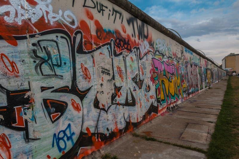 Το τείχος του Βερολίνου Γερμανία στοκ εικόνα με δικαίωμα ελεύθερης χρήσης