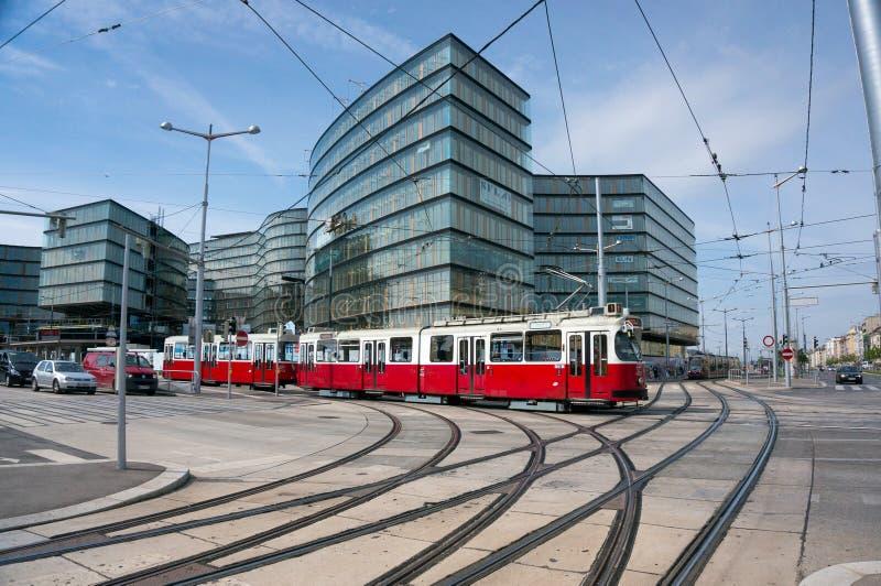 Το τελεφερίκ μέσα η Βιέννη στοκ φωτογραφία με δικαίωμα ελεύθερης χρήσης