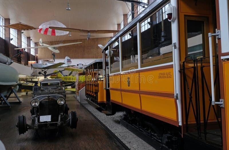 Το τεχνικό μουσείο τέσλα της Nikola στο Ζάγκρεμπ στοκ φωτογραφίες