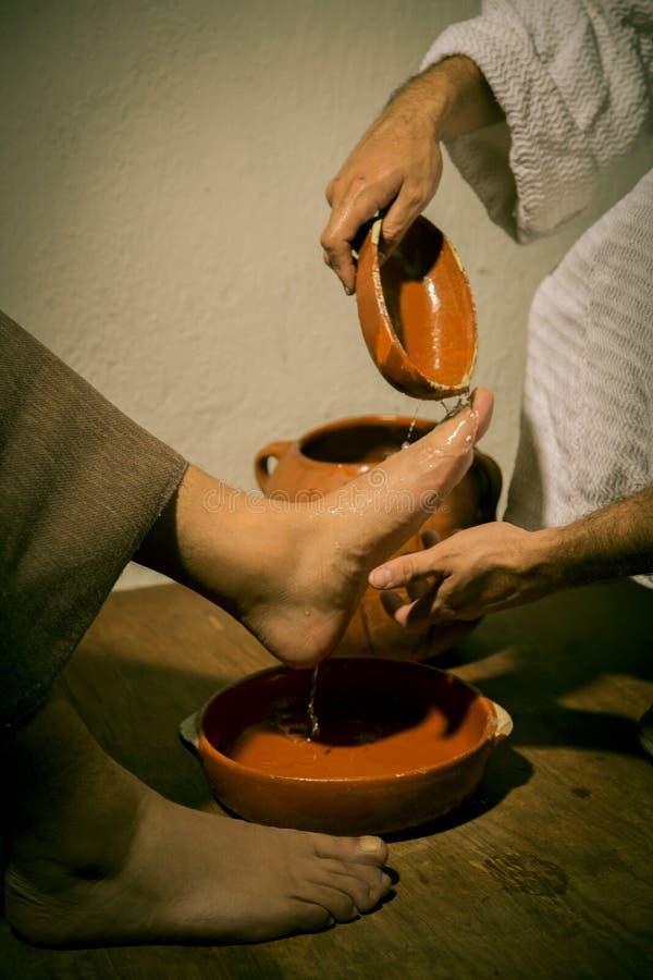 Το τελευταίο βραδυνό του Ιησούς Χριστού στοκ εικόνες με δικαίωμα ελεύθερης χρήσης