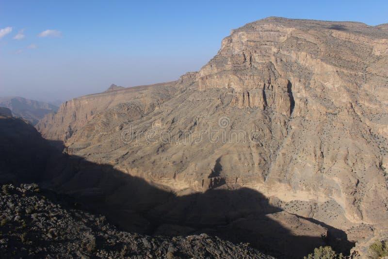 Το τοπίο γύρω από Jabel υποκρίνεται στοκ εικόνες
