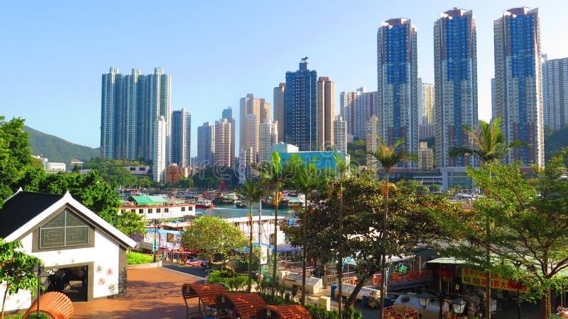 Το τοπίο στο νησί του Χονγκ Κονγκ στοκ φωτογραφία με δικαίωμα ελεύθερης χρήσης