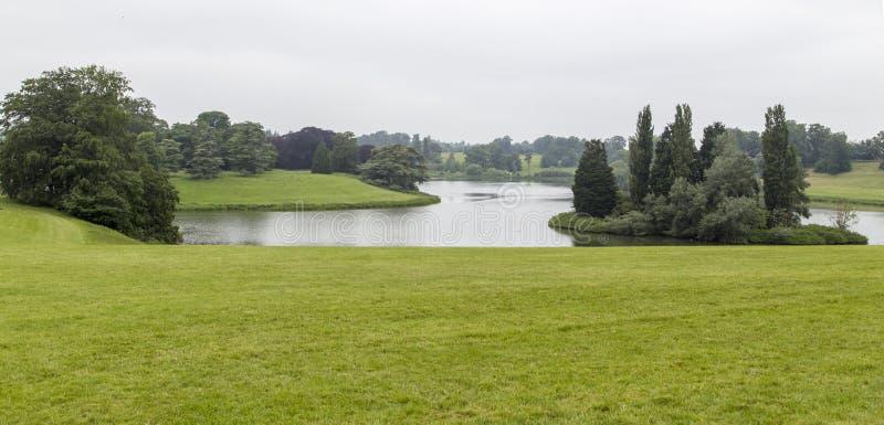 Το τοπίο στο παλάτι blenheim, Λονδίνο στοκ φωτογραφία με δικαίωμα ελεύθερης χρήσης