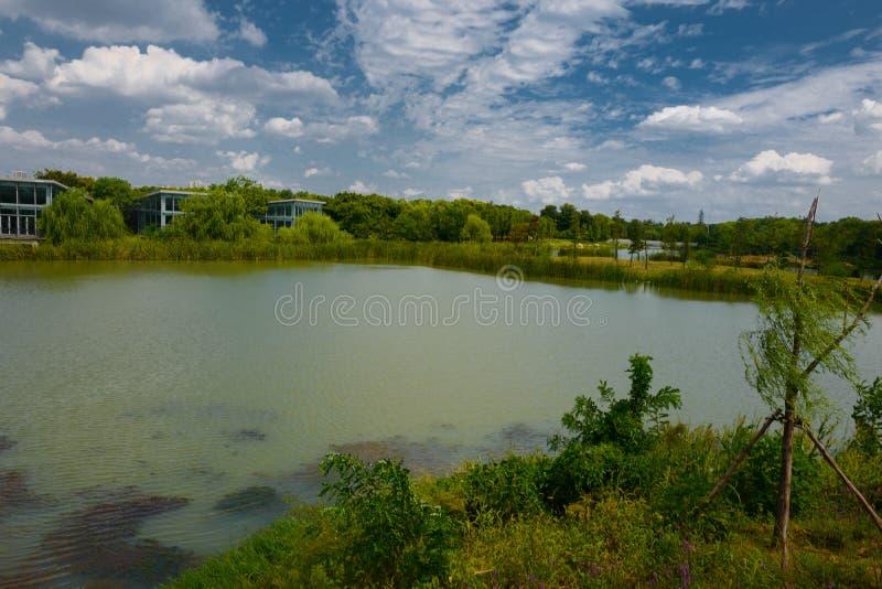 Το τοπίο της λίμνης Taihu στοκ φωτογραφία με δικαίωμα ελεύθερης χρήσης