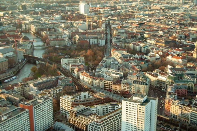Το τοπίο του Βερολίνου στοκ εικόνες