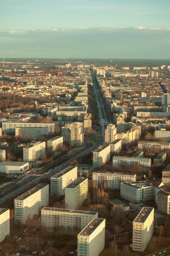 Το τοπίο του Βερολίνου στοκ εικόνες με δικαίωμα ελεύθερης χρήσης