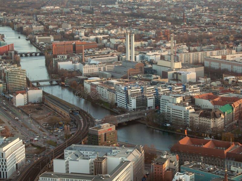 Το τοπίο του Βερολίνου στοκ εικόνα