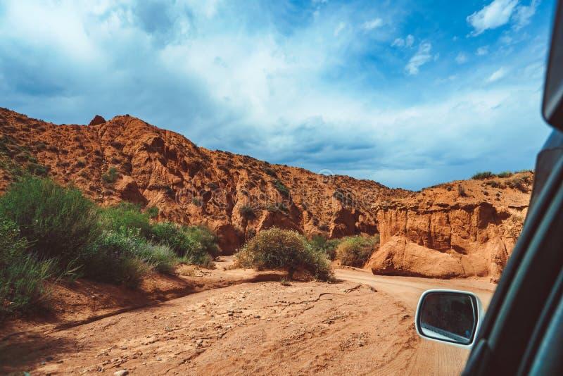 Το τοπίο των κόκκινων βουνών στοκ φωτογραφία με δικαίωμα ελεύθερης χρήσης