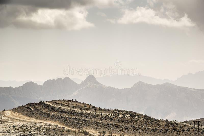 Το τοπίο Jebel υποκρίνεται στοκ φωτογραφίες με δικαίωμα ελεύθερης χρήσης
