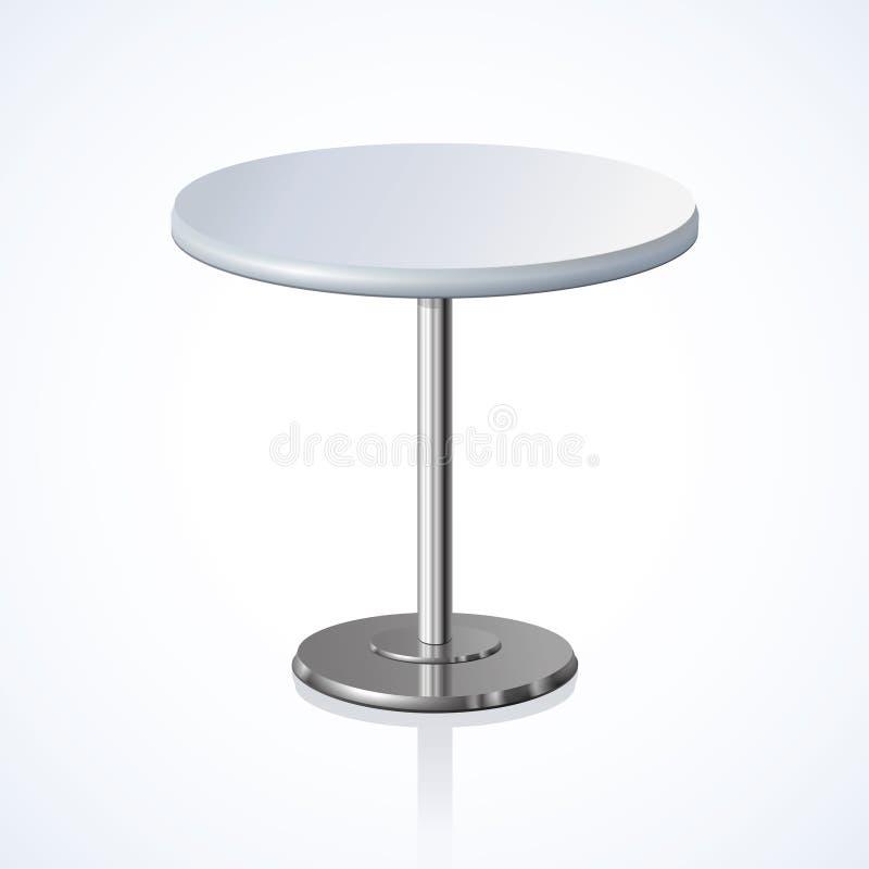 το τρισδιάστατο γκρι ανασκόπησης δίνει τη διάσκεψη στρογγυλής τραπέζης επίσης corel σύρετε το διάνυσμα απεικόνισης διανυσματική απεικόνιση