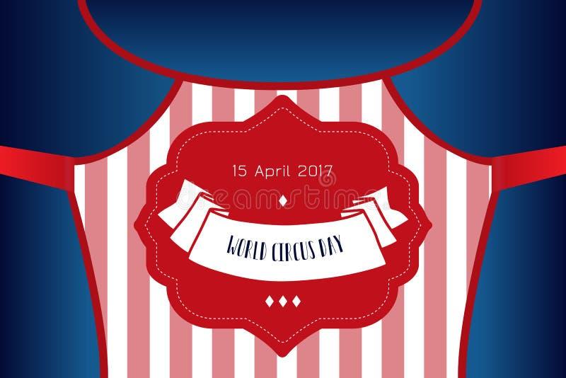 Το τσίρκο παρουσιάζει πρότυπο αφισών απεικόνιση αποθεμάτων