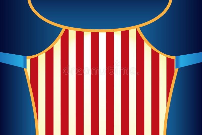 Το τσίρκο παρουσιάζει πρότυπο αφισών ελεύθερη απεικόνιση δικαιώματος