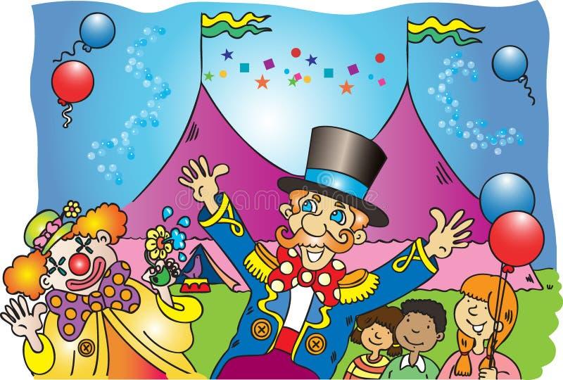 Το τσίρκο διανυσματική απεικόνιση