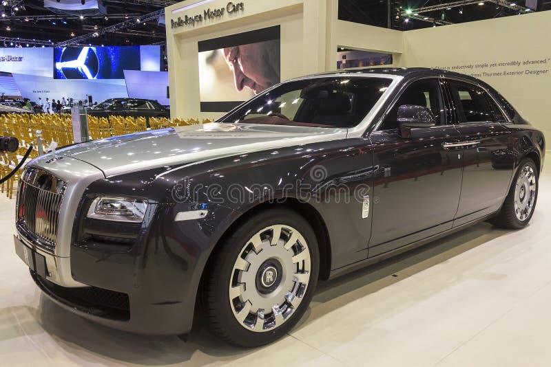 Το τυποποιημένο αυτοκίνητο Wheelbase φαντασμάτων Rolls-$l*royce στοκ εικόνες με δικαίωμα ελεύθερης χρήσης