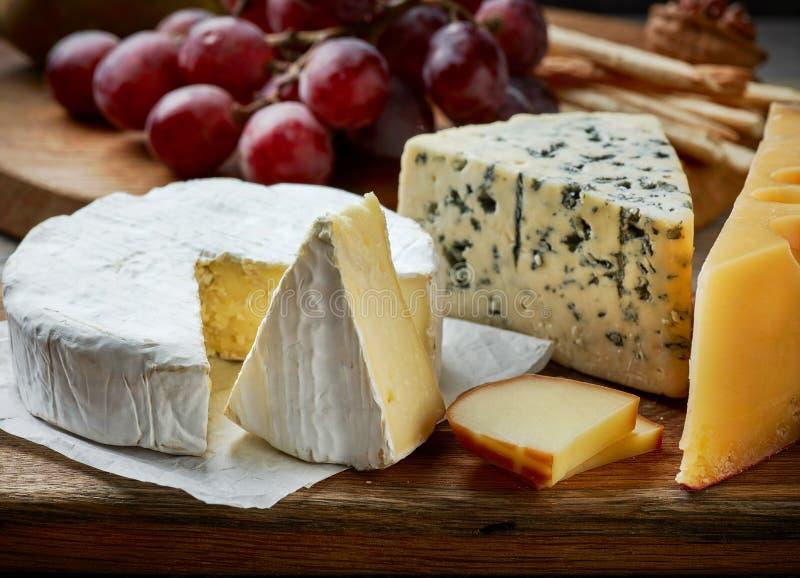το τυρί δακτυλογραφεί διάφορο στοκ εικόνες με δικαίωμα ελεύθερης χρήσης