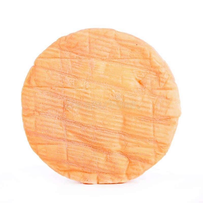 το τυρί απομόνωσε το λε&upsilon στοκ φωτογραφία