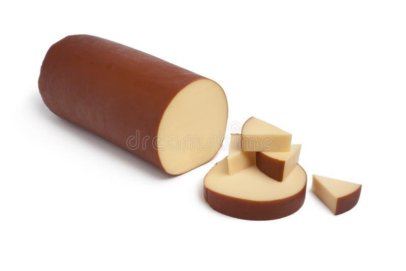 το τυρί ολλανδικά κάπνισ&epsilo στοκ φωτογραφία με δικαίωμα ελεύθερης χρήσης