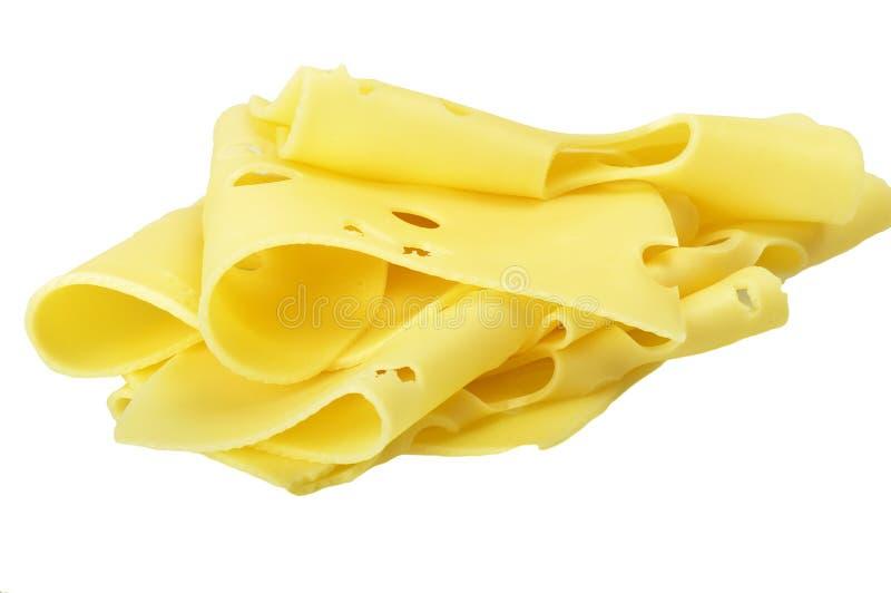 το τυρί τεμαχίζει Ελβετό στοκ φωτογραφία με δικαίωμα ελεύθερης χρήσης