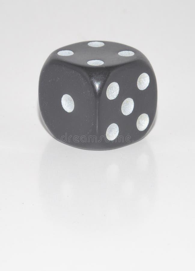 Το τυχερό παιχνίδι χωρίζει σε τετράγωνα είναι έξι πρόσωπα στοκ εικόνες