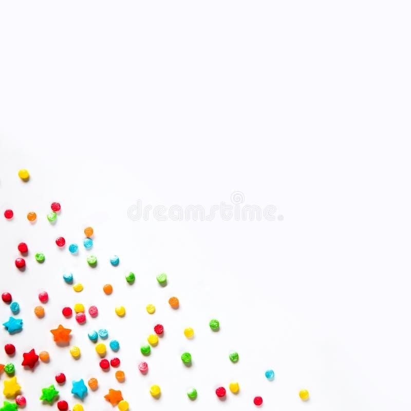 Το υπόβαθρο διακοπών με πολύχρωμο ψεκάζει στοκ φωτογραφία με δικαίωμα ελεύθερης χρήσης