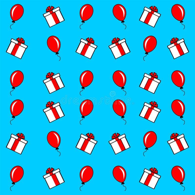 Το υπόβαθρο, η διακόσμηση, η αγορά και τα μπαλόνια, που διαφημίζουν για την πώληση, νέα, κινούμενα σχέδια που ορίζονται, παρουσιά ελεύθερη απεικόνιση δικαιώματος